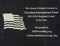 2013 Regional Center of the Year
